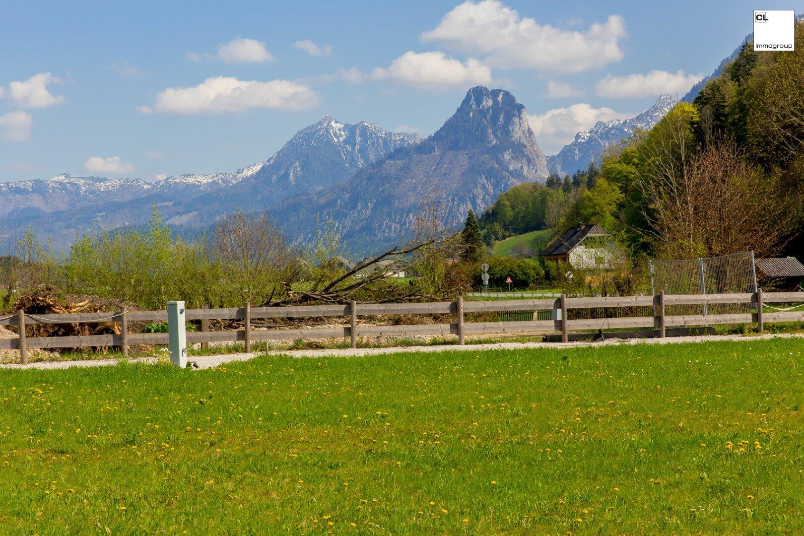 Einzigartiges Seegrundstück mit Panoramablick auf den Wolfgangsee!