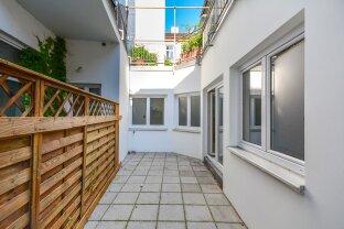 Offene Bürofläche/Atelier mit Terrasse
