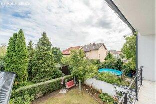 Mieten oder Kaufen! Einfamilienhaus mit 9 Zimmer + 307 m² Garten + Garage - WIEN-Grenze 5 Minuten!