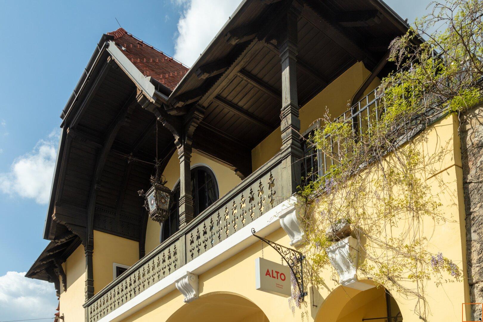 Fassade straßenseitig