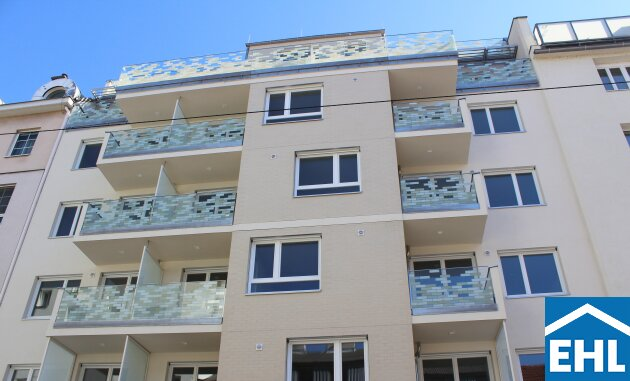 Modernes Neubauprojekt nahe der Alten Donau - Dachgeschoss