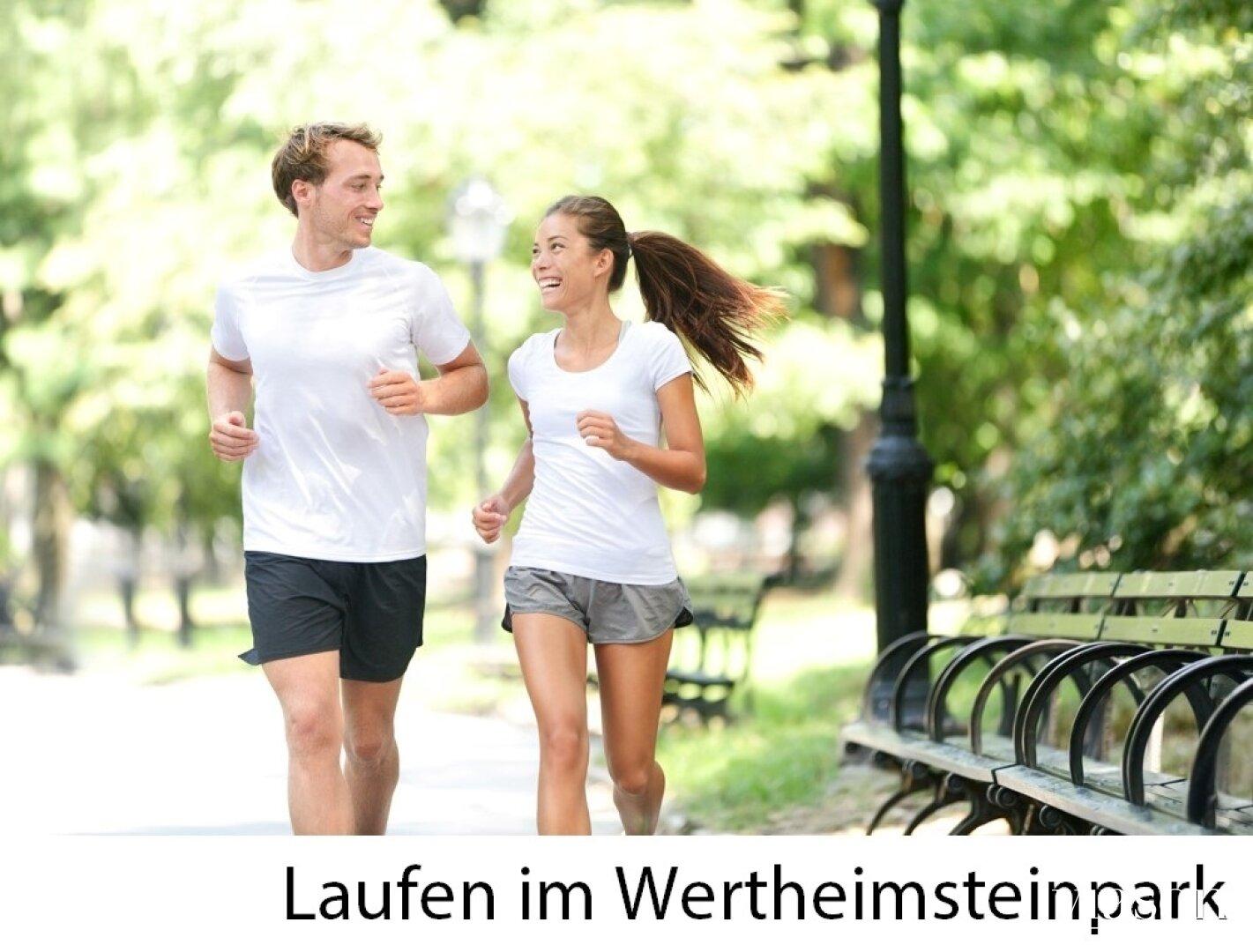 Laufen im Wertheimsteinpark