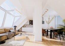 Exclusive Dach-Traumwohnung Top 10 im Dachgeschoß, 5 Zimmer, Erstbezugswohnung, 144,11 m² +  16,82 m² Balkon im 18. Bezirk in der Nähe Währinger Schubertpark!