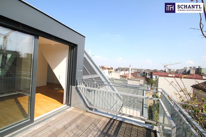 EXKLUSIV! Nicht lange zögern - stylische DG-Wohnung mit Blick auf Wien!