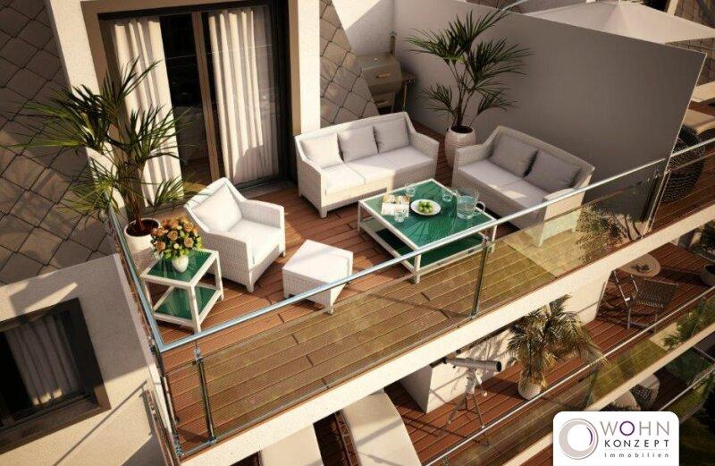 Anlagewohnung: NEUBAU ERSTBEZUG mit Balkon