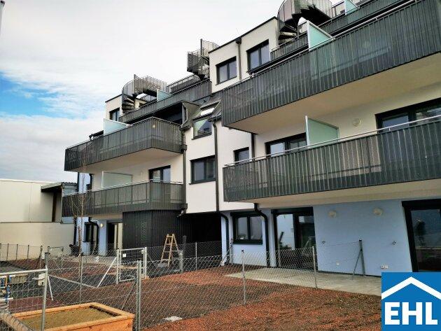 ERSTBEZUG: perfekt geschnittene 3-Zimmerwohnung mit 2 Balkonen/Loggien