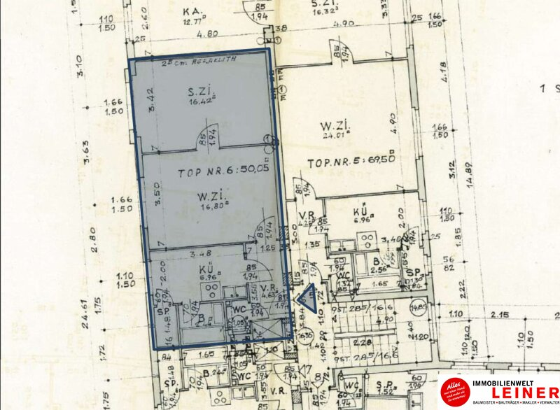 Schwechat:  51m² Mietwohnung  - 2 Zimmer mit bester Verkehrsanbindung! Objekt_9370 Bild_660