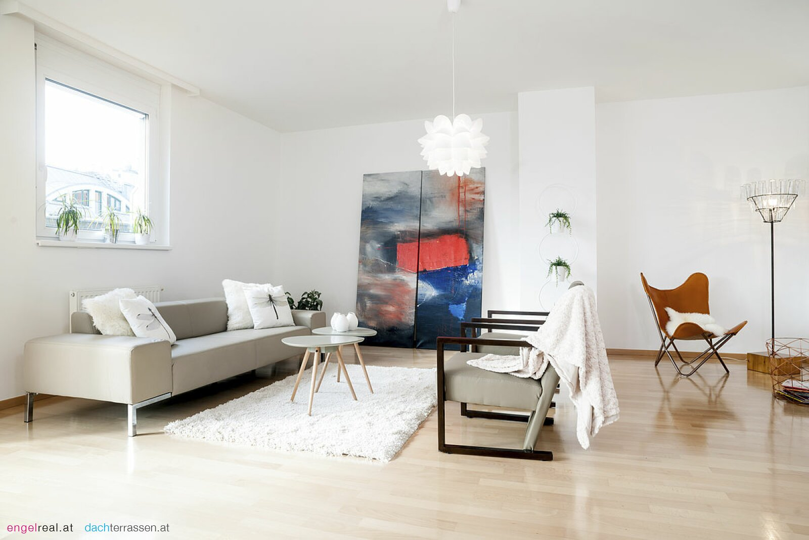 Hoch qualitatives Wohnen/Dachgeschoss mit toller Terrasse