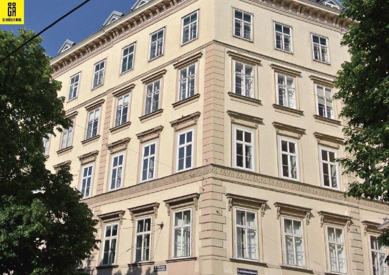 Provisionsfrei für den Käufer - 3 Zimmer Alt-Wiener Vorsorgewohnung - Nähe Taubstummengasse - Hohes Wertsteigerungspotential
