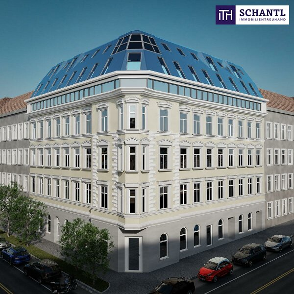 """Herrlicher Blick + TOP-Ausstattung + Traumhaftes Altbauhaus + Perfekte Infrastruktur + Riesige Terrasse! Willkommen im """"Alserhof""""! /  / 1090Wien / Bild 1"""