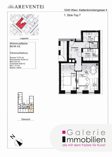 Exklusive Altbauwohnung in revitalisiertem Biedermeierhaus Objekt_31844 Bild_366