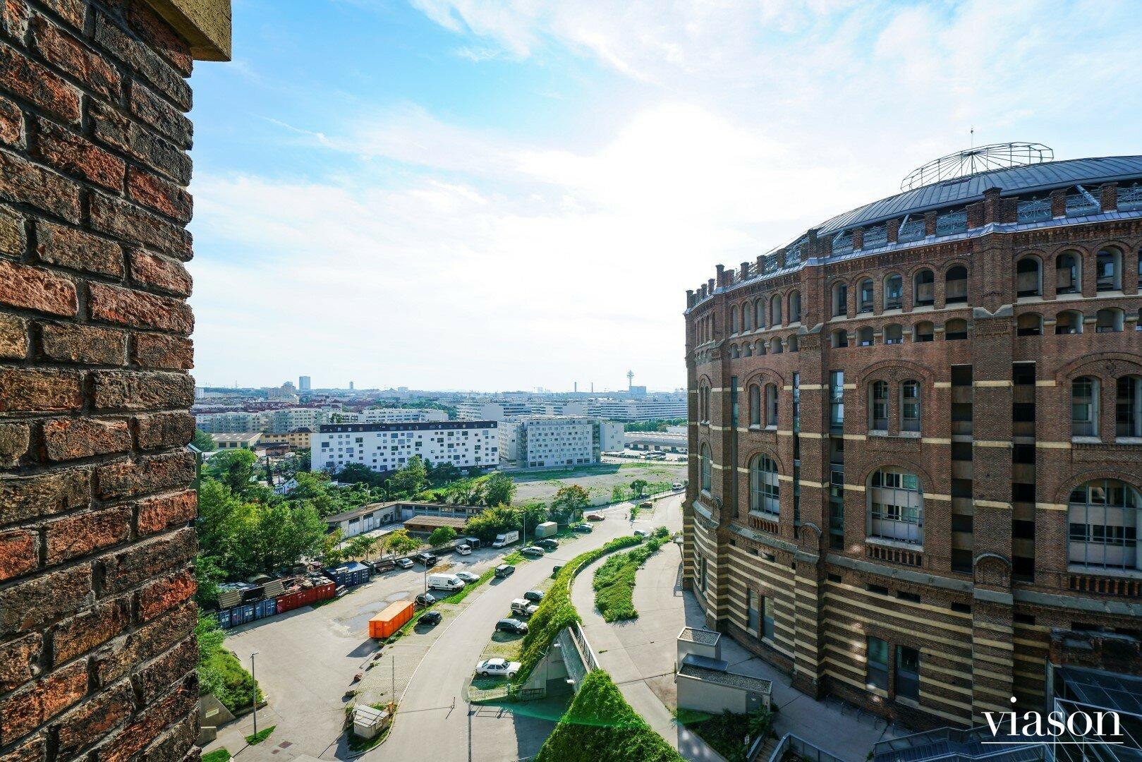 Blick von der Wohnung
