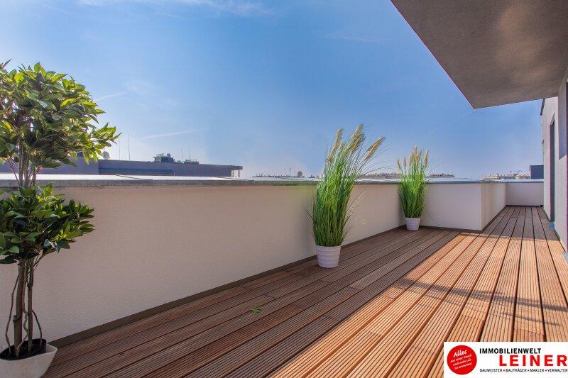 100 m² PENTHOUSE *UNBEFRISTET*BARRIEREFREI*Schwechat - 3 Zimmer Penthouse im Erstbezug mit 54 m² großer südseitiger Terrasse Objekt_9404 Bild_430