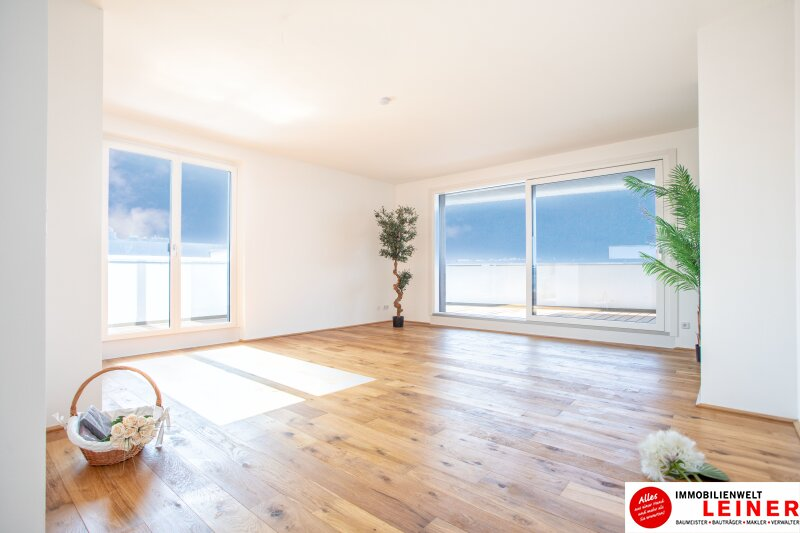 100 m² PENTHOUSE *UNBEFRISTET*BARRIEREFREI*Schwechat - 3 Zimmer Penthouse im Erstbezug mit 54 m² großer südseitiger Terrasse Objekt_9404 Bild_414