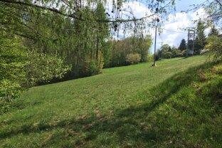Natur pur - sonnige fast Alleinlage am Ortsende von Hinterberg, Aufschliessungsabgabe BK I wurde bereits entrichtet.
