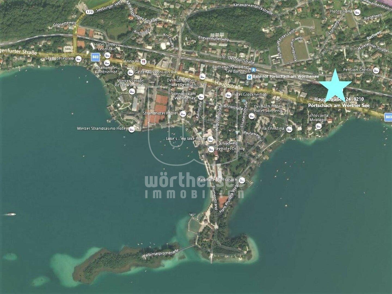 Luftbild Makrolage Pörtschach