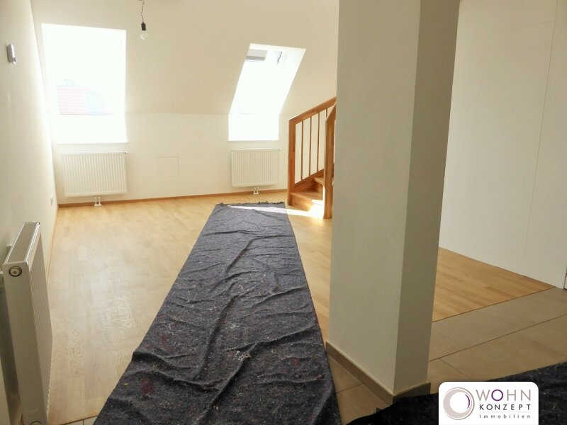 Erstbezug: 80m² Dachmaisonette + 23m² Terrasse mit Einbauküche - 1090 Wien /  / 1090Wien / Bild 4