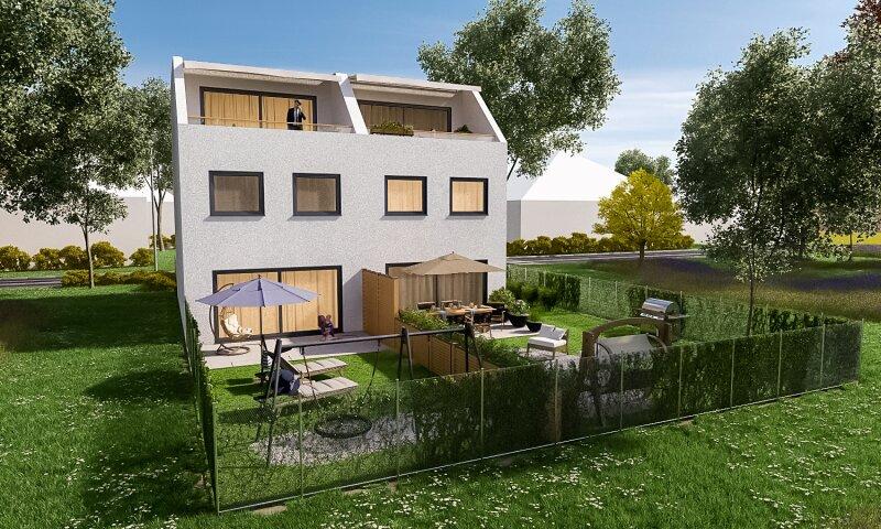 Erstbezug: herrliches, lichtverwöhntes Doppelhaus auf 3 Ebenen - 2 Min. nach Wien /  / 2301Groß-Enzersdorf / Bild 0
