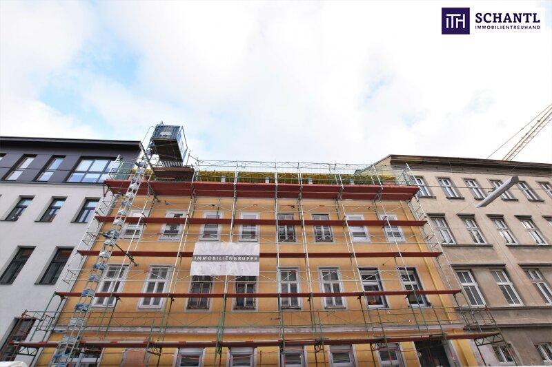 Ein Platz für Individualisten + Riesige Dachterrasse + TOP-Ausstattung + Rundum saniertes Haus + Perfekte Anbindung und Infrastruktur + Ruhelage! Worauf warten Sie? /  / 1150Wien / Bild 3