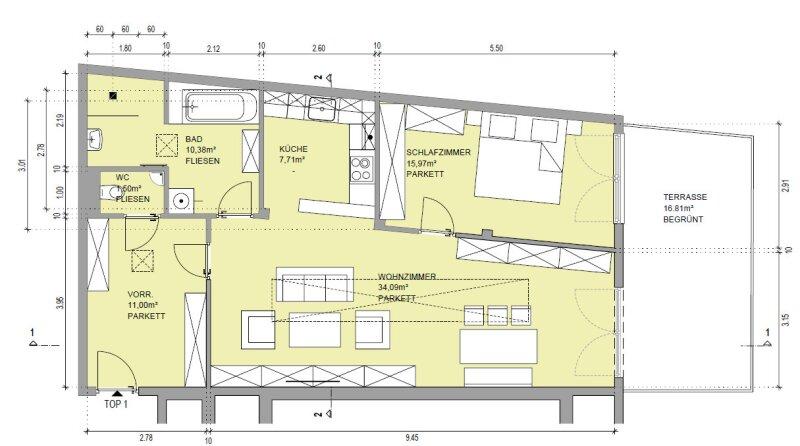 Ein Wohnerlebnis der besonderen Art mit Terrasse in ruhe Lage! /  / 1180Wien / Bild 3