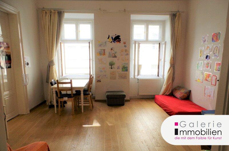 Toplage - Großzügige 6-Zimmer-Altbauwohnung beim Kunst Haus Wien - 2 Eingänge Objekt_34844