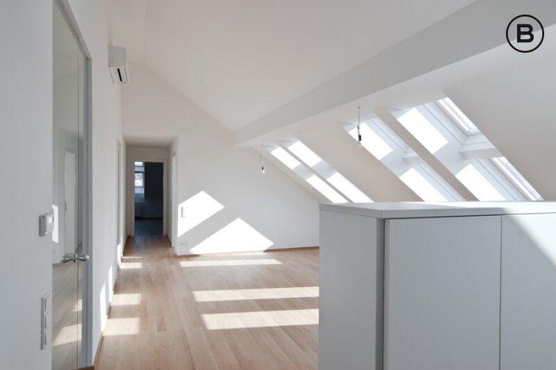Unbefristete Dachterrassenwohnung