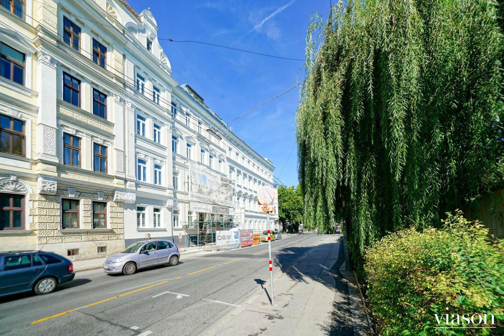 Fassadenansicht Ruckergasse_Grünlage