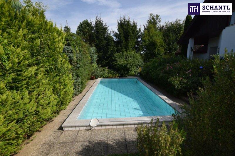 ITH #herrschaftliches WOHNEN AM RUCKERLBERG - Einfamilienhaus mit Außenpool + Garage + Sauna in 8010 - nähe Privatklinik Ragnitz!
