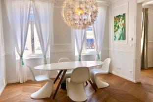 Klassische 3-Zimmer Wiener-Altbau-Wohnung mit Balkon in Top Lage - DONAUKANAL-SERVITENVIERTEL!
