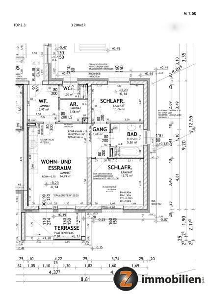 Güssing: Provisionsfreie, schöne Neubauwohnung