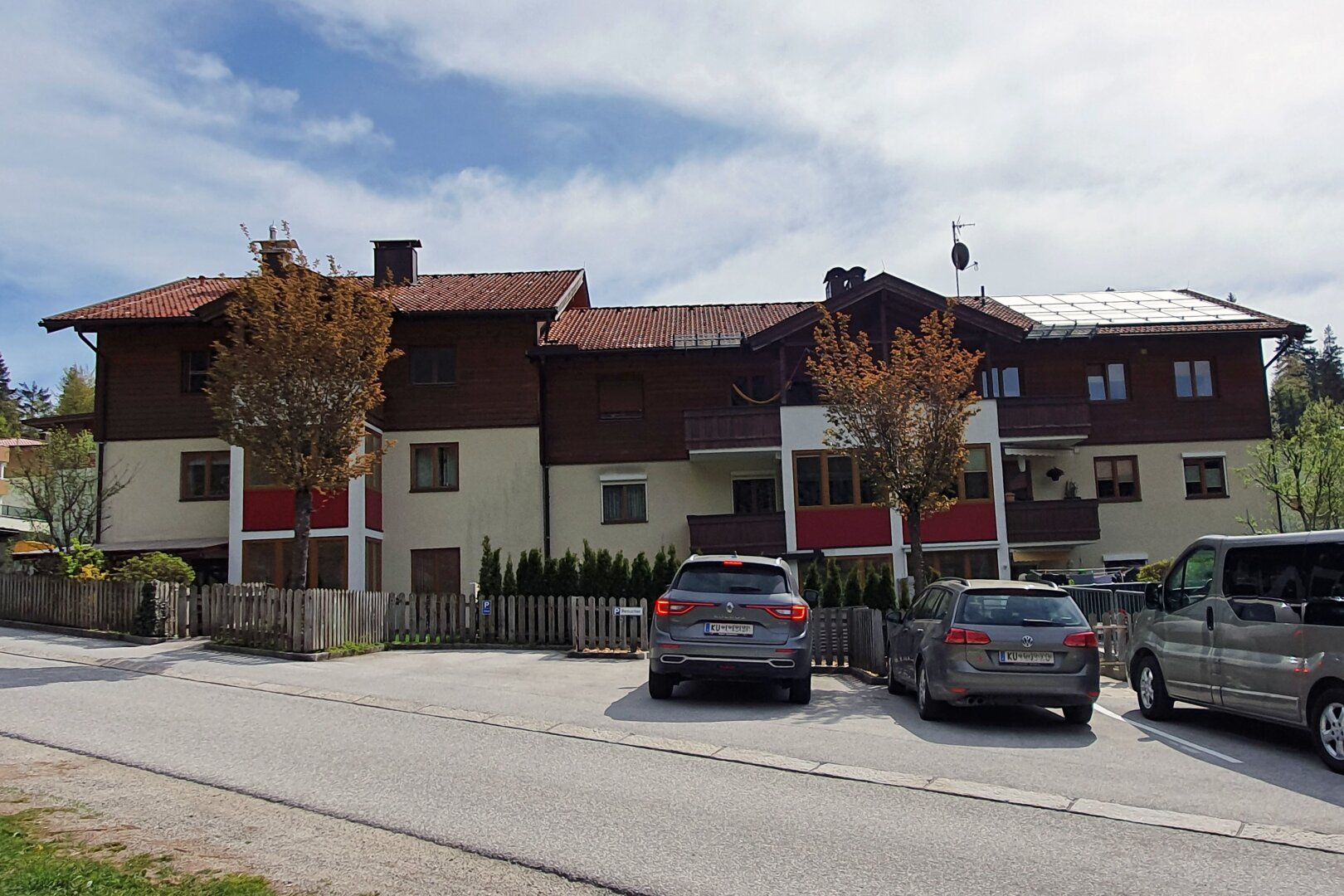 Ansicht Wohnhaus, 4-Zimmer-Wohnung, Scheffau am Wilden Kaiser