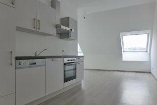 Schöne 2 Zimmer Wohnung mit Terrasse | Dachgeschoss