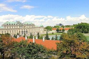 TRAUM-BLICK!  Helle 2 Zimmer Wohnung im 3. Liftstock  beim Schloss Belvedere
