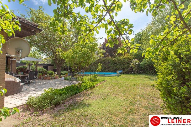 Ihr Haus * BUNGALOW* in Schwadorf mit 1077 m² Grund und Pool - verbringen Sie den nächsten Sommer im eigenen Garten Objekt_8819 Bild_644