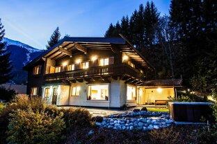 Zell am See: Touristisch vermietbares, renoviertes Landhaus, mit ca. 6000m² Grundstück mit Wald, 6 Doppelzimmer, Sauna Landschaft!! Schmitten Talstation in unmittelbarer Nähe