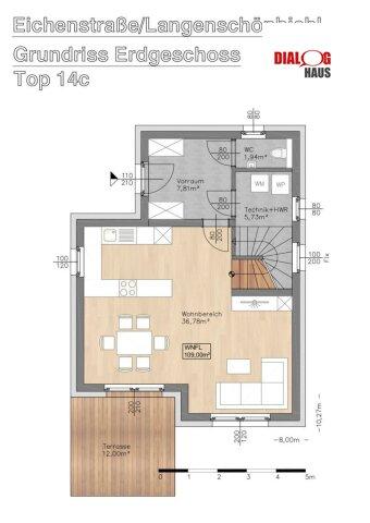 Für Kunden RESERVIERT !!! - Modernes Wohnen muss nicht teuer sein - Einfamilienhaus in Langenschönbichl
