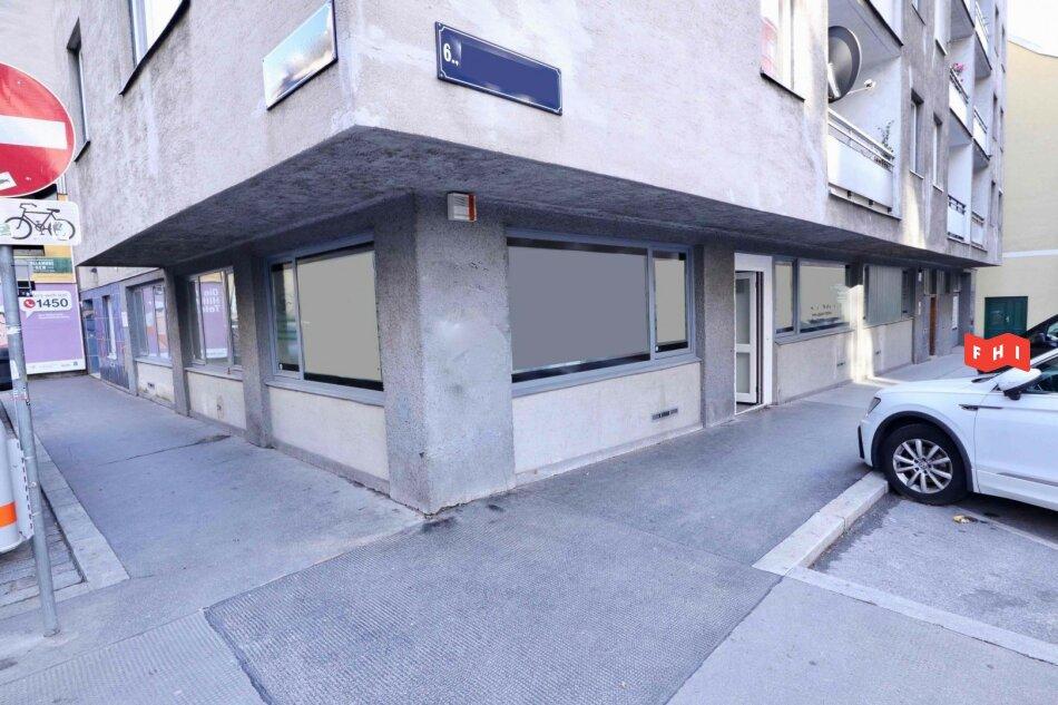 Helles EG-Büro Nähe Mariahilfer Straße