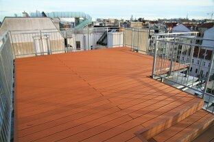 PENTHOUSE in 1070 Wien / 160 m² Wohnfläche + 4 Terrassen zu insgesamt 101 m² + 360°Panorama-Blick über Wien