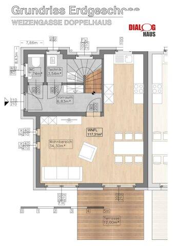 AUSVERKAUFT !!! - Neue moderne Siedlung in St. Andrä Wördern - Weizengasse