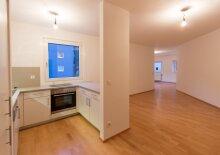 Ruhig Wohnen in einem Neubau mit extravagantem Grundriss, Nähe U3