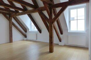 Exklusive 3-Zimmer DG-Wohnung mit Terrasse- Nähe Stubentor