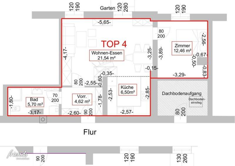 BLUMAU - 2 Zimmer Gartenwohnung /  / 2602Blumau-Neurißhof / Bild 2