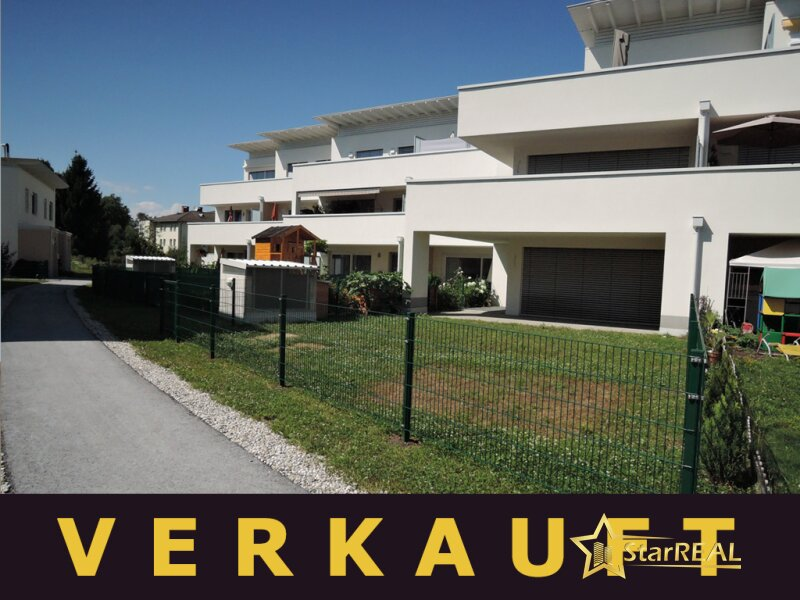 VERKAUFT. ZENTRUMSNAHE RUHELAGE! 110m² Wfl, Gartenwohnung in Ziegelmassivbauweise. PROVISIONSFREI für den Käufer.