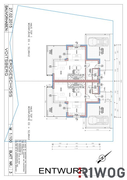 Wohnen über Voitsberg - *Projekt Terrassenberg* stellt sich vor .. (DHH 3) /  / 8570Voitsberg / Bild 1