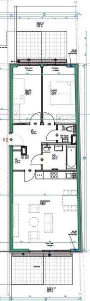 Sehr ruhige 3 Zimmergartenwohnung mit 2 Terrassen, gut geschnitten, Neubau Erstbezug, provisionsfrei! /  / 1230Wien / Bild 8