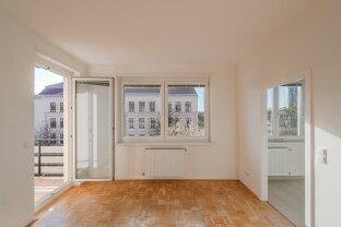 gepflegte 2-Zimmer Wohnung in der Vorgartenstraße