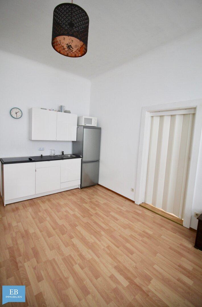 Küche im Wohnzimmer