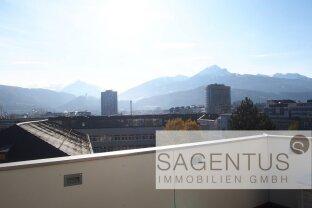 ATEMBERAUBENDE DACHTERRASSEN-Wohnung mit 360° Panorama in der Innsbrucker Innenstadt