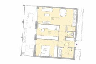 SMART SEIN - PROVISIONSFREI MIETEN - 3-Zimmer-Erstbezugswohnung