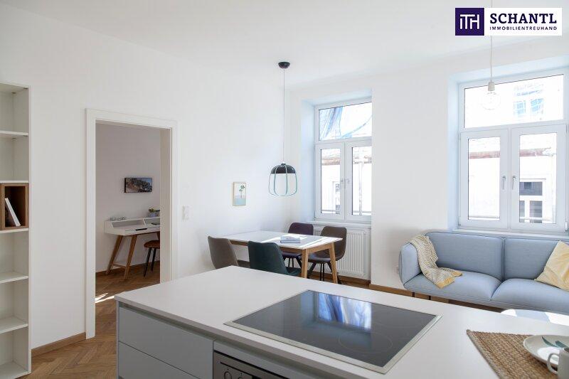 Perfekte 2-Zimmer Wohnung mit Loggia! Großer grüner Innenhof + Rundum saniertes Haus + Perfekte Infrastruktur! /  / 1150Wien / Bild 14